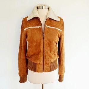 Kiliwatch | Parisian Goatskin Leather Bomber Coat